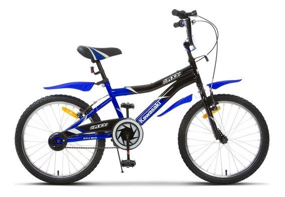Bicicleta Kawasaki Infantil Criança Mx3 V-brake Aro 20
