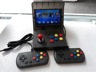 Consola Retro Arcade Con 3000 Juegos, Portatil Y Salida A Tv