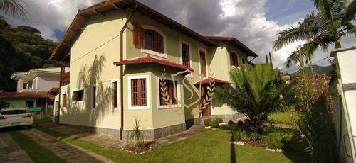 Imagem 1 de 30 de Casa Com 4 Dormitórios À Venda, 300 M² Por R$ 1.200.000,00 - Prata - Teresópolis/rj - Ca0578