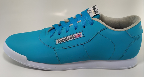 Zapato Deportivo Tipo Reboc Clasicas Azul Cielo 39-40