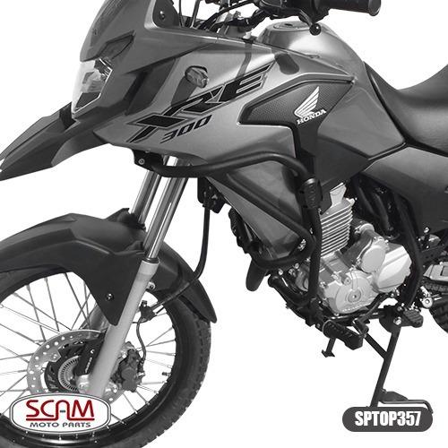 Protetor Motor Carenagem Honda Xre300 2010+ Scam Sptop357