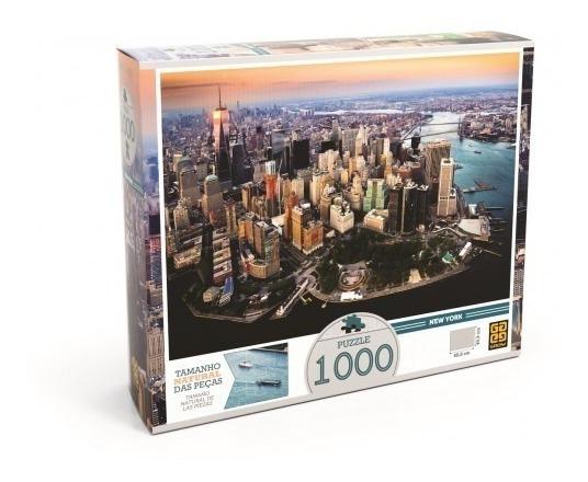 Jogo Quebra-cabeças Puzzle 1000 Peças New York
