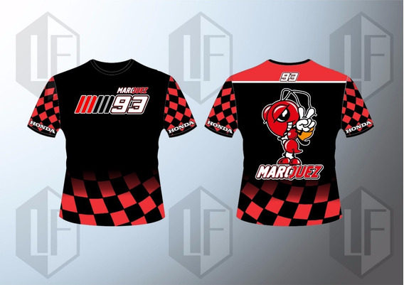 Camisa Marque Maquez 93 Moto Gp Racing 2018 P/entrega