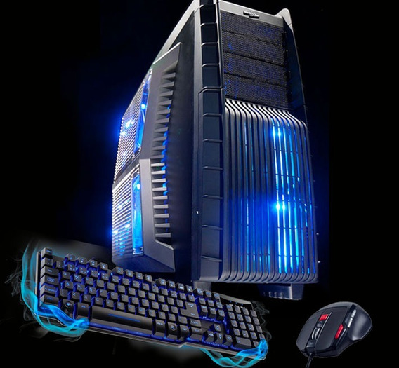 Pc Gamer Completo I7 Gtx 1050ti 16gb Ssd+hd Watercooler