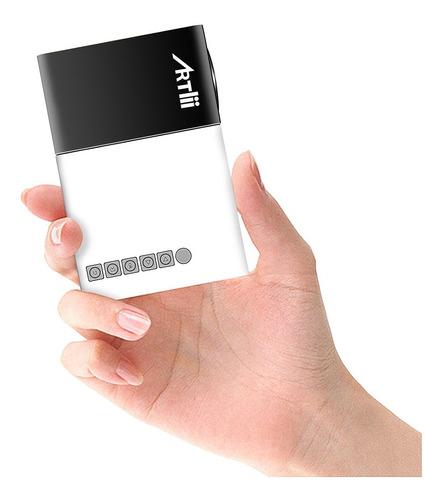 Pico Projector, Artlii Movie iPhone Mini Pocket Laptop Sm