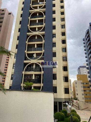 Apartamento Com 2 Dormitórios À Venda, 72 M² Por R$ 439.000,00 - Mansões Santo Antônio - Campinas/sp - Ap4840