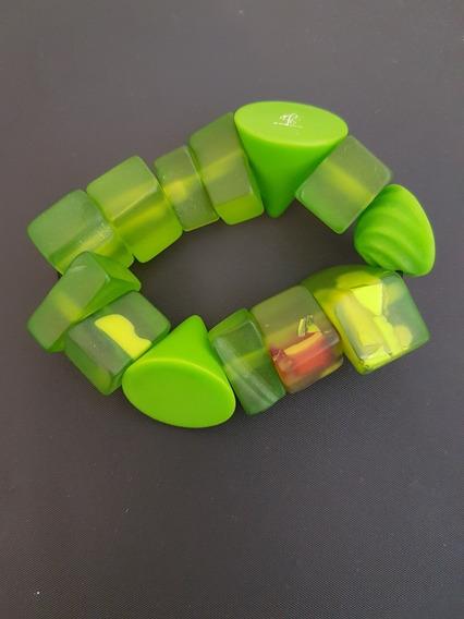 Pulseira Verde Marca Sobral