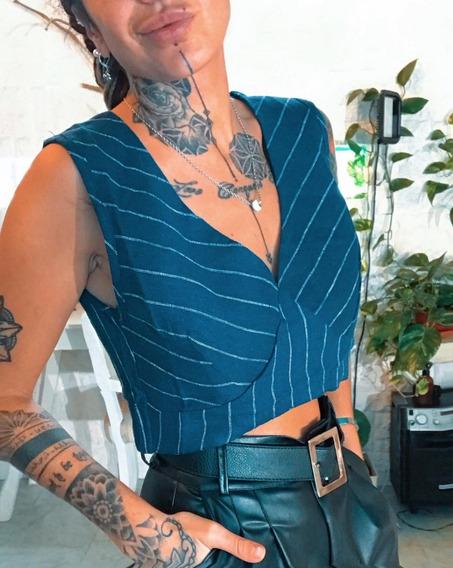 Top Musculosa Remera De Dama Mujer Art. 7078