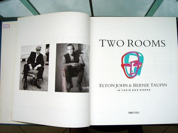 Livro Two Rooms Autografado Por Elton John/1991