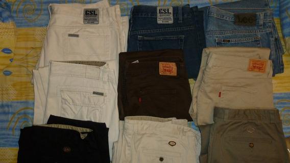 Pantalones Blue Jeans Gsl Usados En Optimas Condiciones.