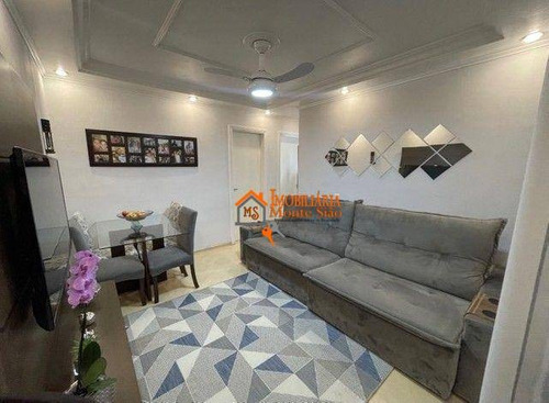 Imagem 1 de 16 de Apartamento Com 2 Dormitórios À Venda, 55 M² Por R$ 233.000,00 - Vila Rio De Janeiro - Guarulhos/sp - Ap3084