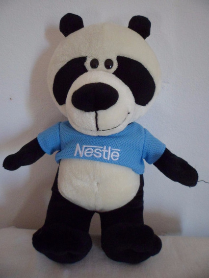 Pelúcia Panda Filhote Galera Animal Nestle Usado Promoção