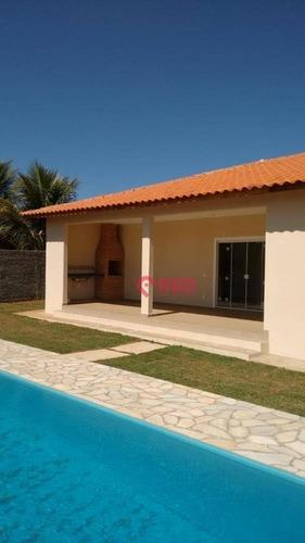 Chácara Com 3 Dormitórios À Venda, 1000 M² Por R$ 530.000,00 - Residencial Aquarius - Araçoiaba Da Serra/sp - Ch0011