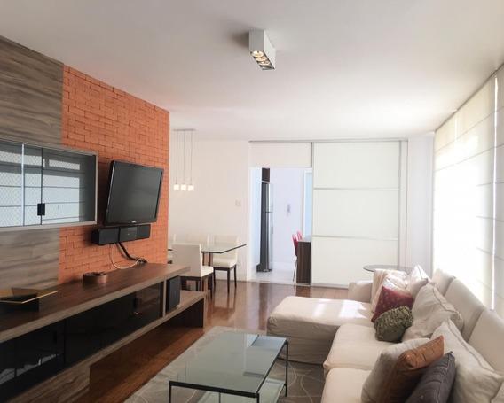 Apto Lindo Mobiliado - 2 Dorm Sendo 1 Suite Com Ar Condicionado, 01 Vaga , 164m² - Proximo A Rua Oscar Freire - L893 - 34618323