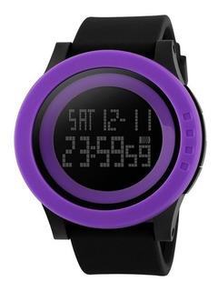 Reloj Skmei Hombre Digital Inteligente Sumergible Alarma