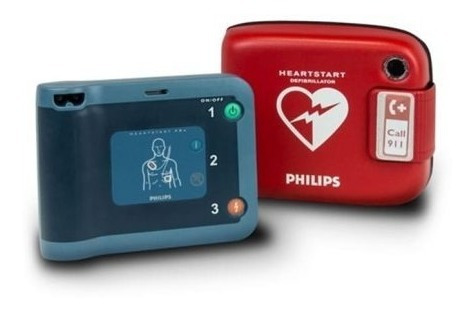 Desfibrilador Philips Heartstart - Salud y Equipamiento
