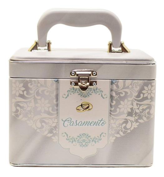 Álbum Fotográfico Maleta Box Luxo Casamento 240 Fotos 10x15