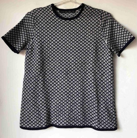 Remera Blusa Tejida De Mujer Marca Zara Talle S