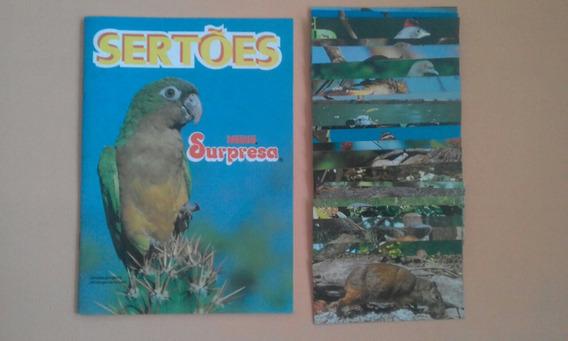 Álbum Sertões Chocolate Surpresa Completo