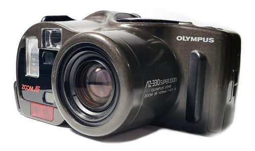 Olympus Az-330 Superzoom 35mm Funciona * Leia O Anuncio *