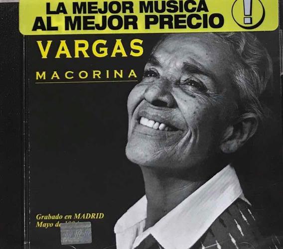 Chavela Vargas, Marcorina Cd Nuevo Sellado