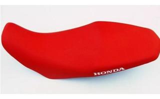 Capa Do Banco Honda Xre 300 Rally - Modelo Original Vermelha