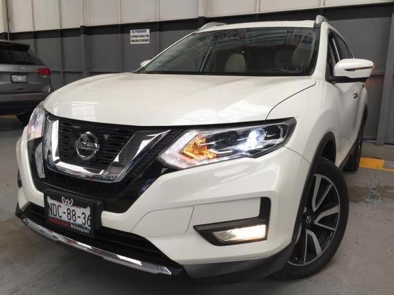 Nissan X-trail 5p Exclusive Cvt Piel Cd Qc Gps 5 Pas. Ra-18