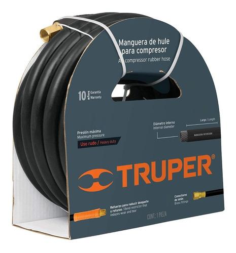 Manguera Compresor Alta Presión 3/8 PuLG. 7,5 Metros Truper