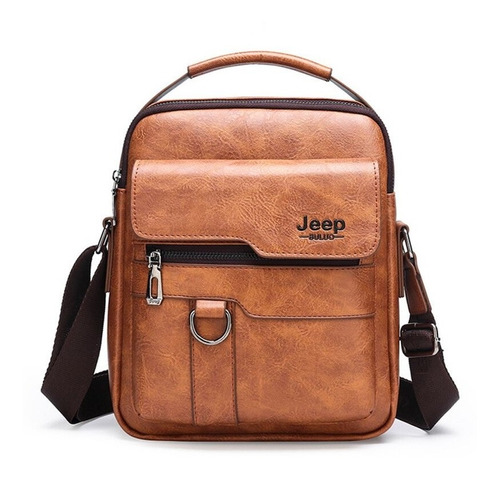 Imagen 1 de 9 de Jeep Business Messenger - Bolso De Hombro Para Hombre