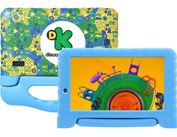 Tablet Multilaser Discovery Kids Tela 7 8gb 1gb Ram Câm 2mp