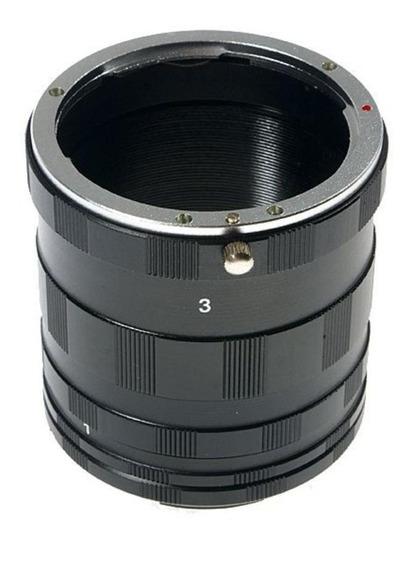 Tubo Extensor Macro Fotografia Cameras P/ Nikon - P43 N