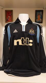 Camisa Futebol Newcastle United adidas 2000 Dyer