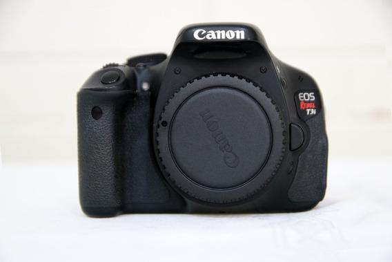 Canon T3i Só Corpo + 3 Baterias + Carregador + Microfone Ext