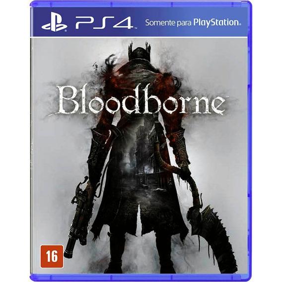 Bloodborne Ps4 Mídia Física Novo Lacrado
