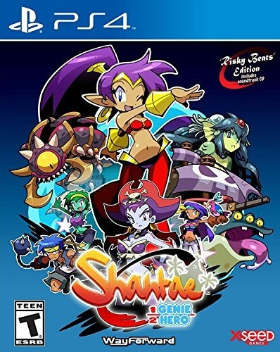 Shantae: Half-genie Hero - Risky Beats Edition - Playstation