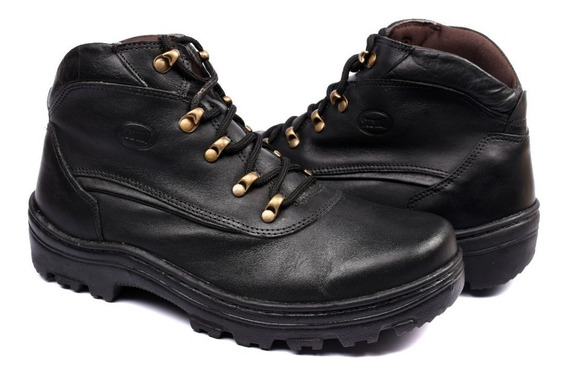 Coturno Adventure Masculino Em Couro Legítimo Stevan Boots