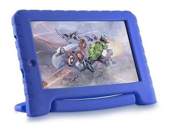 Tablet Vingadores 7 Polegadas Capa Emborrachada Wifi Kids