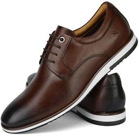 f69e6a55ced Sapato Casual Em Couro Moderno E Despojado Top Lançamento