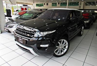 Land Rover Evoque 2.0 Dynamic 4wd 16v Gasolina 4p Automático