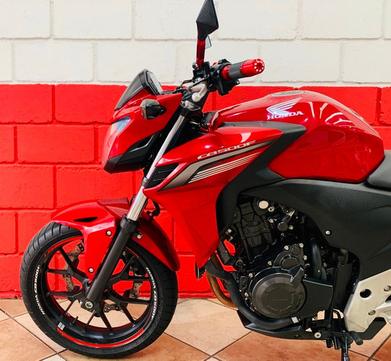Honda Cb 500f - 2014 - Financiamos - Km 30.000
