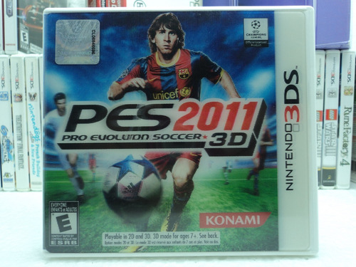 Pes 2011 3d - Pro Evolution Soccer 2011 3d - Nintendo 3ds!!!