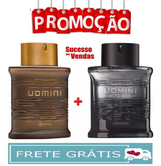 Kit 2 Uomini + Uomini Moto Soul Desodorante Colônia 100ml