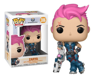 Funko Pop Zarya 306 - Overwatch Coleccionables