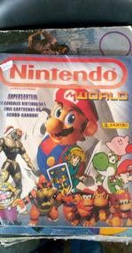 Álbum Nintendo World Faltando 21 Figurinhas