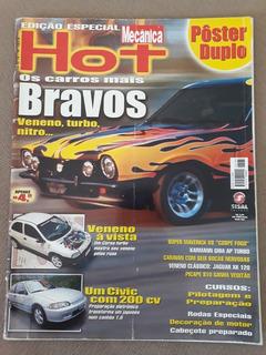 Revista Oficina Mecânica Hot N 185-a Maverick V8 Civic Corsa