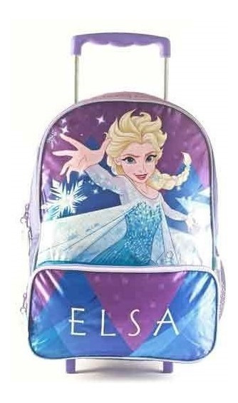 Mochila Carro Frozen Ice Powers 16