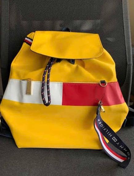 Z115 Bolsa Mochila Tommy Original Importada