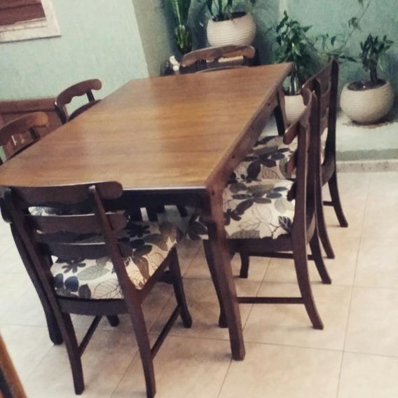 Mesa E 6 Cadeiras Cimo