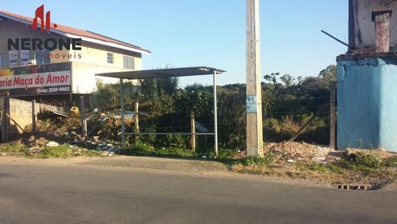 Terreno A Venda No Bairro Águas Claras Em Campo Largo - Pr. - 282-1