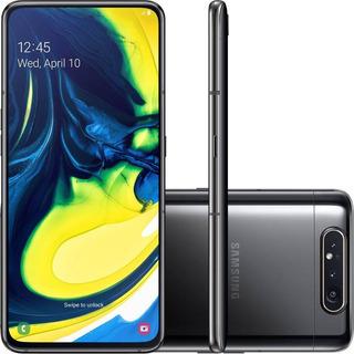 Smartphone Samsung Galaxy A80 128gb 8gb Ram Câmera Tripla Rotativa 48mp+8mp+tof - Preto 0